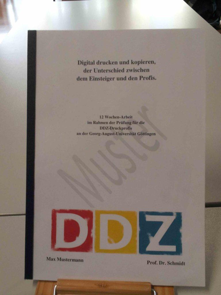 Abschlussarbeiten Digitales Druck Zentrum